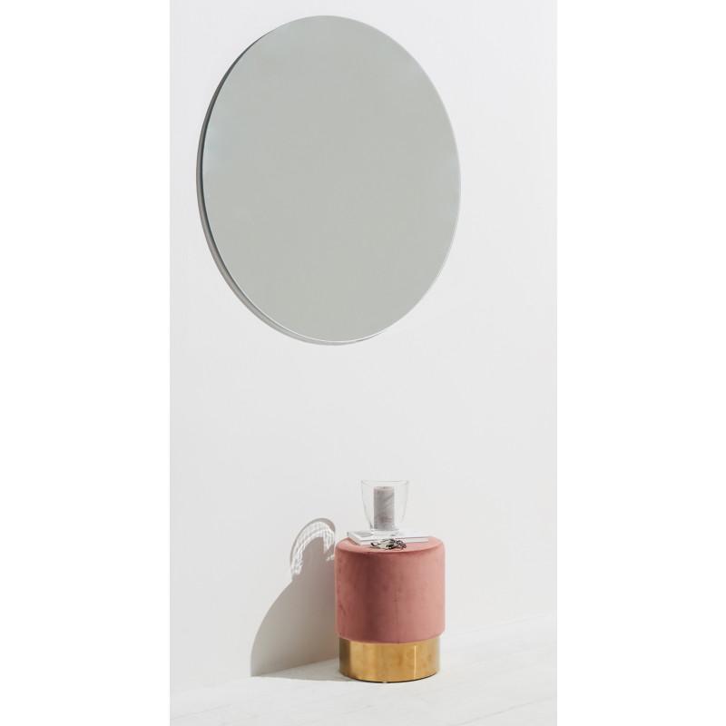 Homestyle garderobenspiegel rund 100cm raumansicht