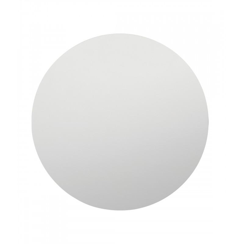 your-homestyle Spiegel rund Ø 80 cm, hochwertig verarbeiteter Kristallspiegel/Wandspiegel, Rahmenlos, inkl. Befestigungsmaterial