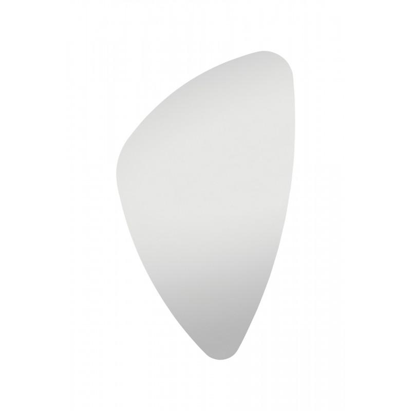 your-homestyle Spiegel organische Form 89cm x 55cm, hochwertig verarbeiteter Kristallspiegel/Wandspiegel, inkl. Befestigungsmaterial