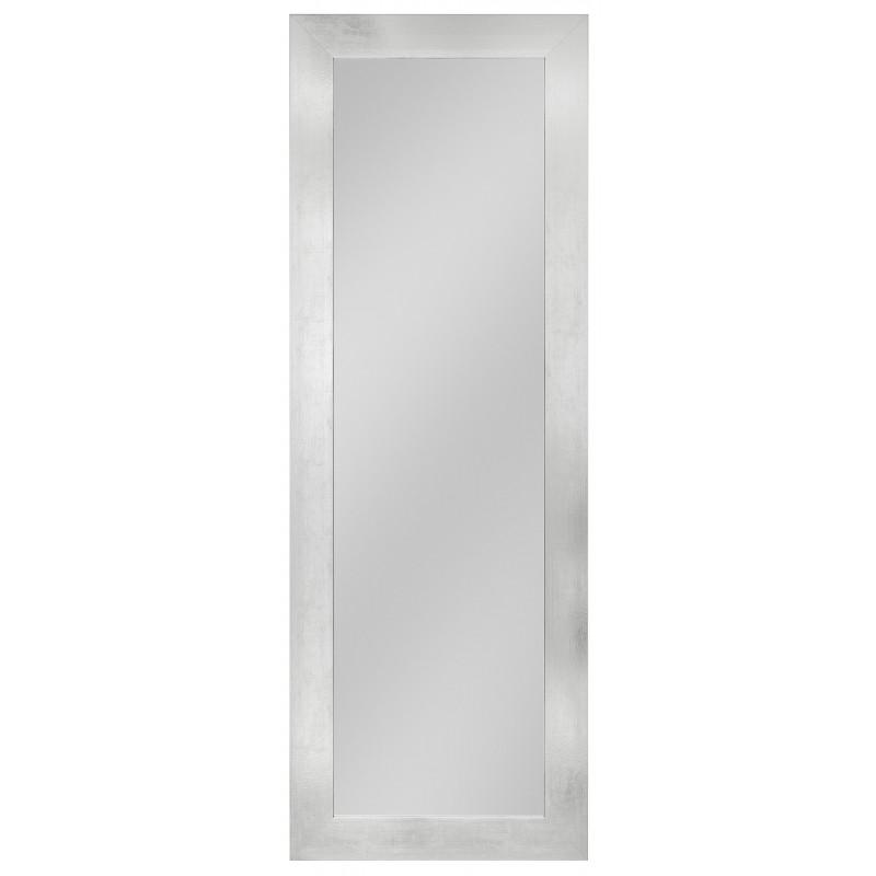 Rahmenspiegel Elke, 54 x 154 cm, Aluminium-Optik