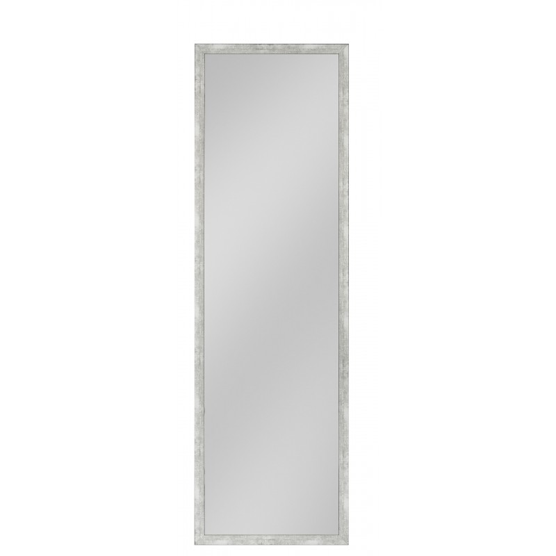 Rahmenspiegel Stefan, 45 x 144 cm, Aluminium-Optik