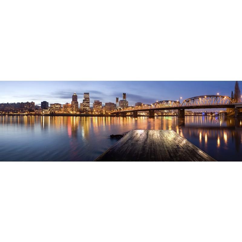 Leinwandbild: Bright Lights, 150 x 50 cm