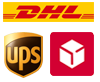 DHL, UPS, DPD